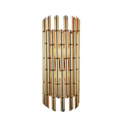 Favourite Flute 1850-1W Светильник настенный браСовременные<br><br><br>Тип цоколя: E27<br>Количество ламп: 1<br>Размеры: D150*H480<br>MAX мощность ламп, Вт: 60