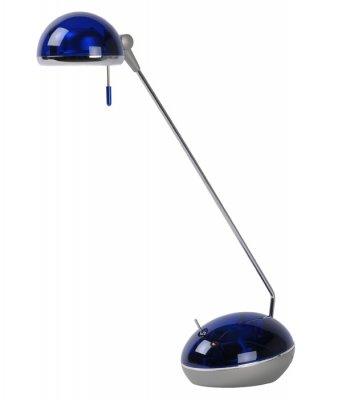 настольная лампа Lucide 18608/21/35 AUSTINснятые с производства светильники<br>Настольная лампа – это не просто источник дополнительного освещения, но и оригинальный элемент декора. Его можно установить в спальне, гостиной, кабинете и других комнатах. Интернет-магазин «Светодом» предлагает настольные лампы разных стилей по доступным ценам. Благодаря большому ассортименту Вы обязательно найдете в нашем каталоге именно ту модель, которую искали.   Настольная лампа Lucide Lucide 18608/21/35 – прекрасный вариант для завершения интерьера. Ее можно включить одновременно с люстрой для более яркого освещения или без нее для создания уютной атмосферы, настраивающей на отдых.   Купить настольную лампу Lucide Lucide 18608/21/35 Вы можете с помощью виртуальной «Корзины» или по контактным номерам, указанным на сайте.<br><br>S освещ. до, м2: 3<br>Цвет арматуры: синий<br>Количество ламп: 1<br>Высота, мм: 420<br>Оттенок (цвет): синий<br>MAX мощность ламп, Вт: 50