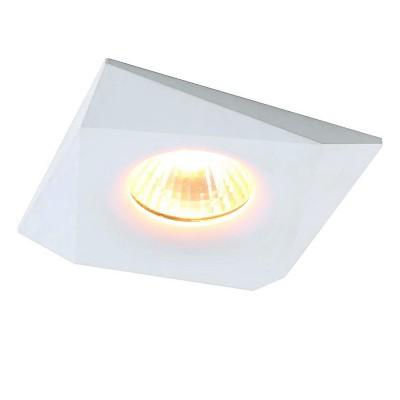 Светильник Divinare 1874/03 PL-1Металлические потолочные светильники<br><br><br>Тип лампы: галогенная/LED - светодиодная<br>Тип цоколя: GU5.3<br>Цвет арматуры: белый<br>Количество ламп: 1<br>Ширина, мм: 88<br>Длина, мм: 88<br>Высота, мм: 26<br>Поверхность арматуры: матовая<br>Оттенок (цвет): белый<br>MAX мощность ламп, Вт: 50