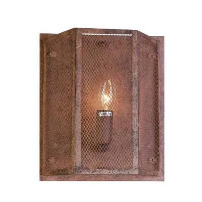 Favourite Burg 1885-1W Светильник настенный браЛофт<br><br><br>Тип цоколя: E14<br>Количество ламп: 1<br>MAX мощность ламп, Вт: 40<br>Размеры: L240*W120*H280