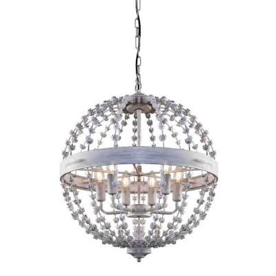 Favourite Blumen-Kugel 1888-6P ЛюстраПодвесные<br><br><br>Установка на натяжной потолок: Да<br>S освещ. до, м2: 12<br>Крепление: крюк<br>Тип цоколя: E14<br>Количество ламп: 6<br>MAX мощность ламп, Вт: 40<br>Диаметр, мм мм: 520<br>Размеры: D520*H610/1610<br>Высота, мм: 610 - 1610<br>Цвет арматуры: белый