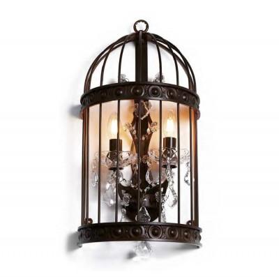 Favourite Gabbia 1890-2W Светильник настенный браКлассические<br><br><br>Тип цоколя: E14<br>Количество ламп: 2<br>MAX мощность ламп, Вт: 40<br>Размеры: D290*W170*H550