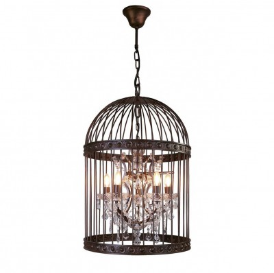 Favourite Gabbia 1890-5P ЛюстраПодвесные<br><br><br>S освещ. до, м2: 10<br>Крепление: крюк<br>Тип цоколя: E14<br>Количество ламп: 5<br>MAX мощность ламп, Вт: 40<br>Размеры: D500*H760/1760