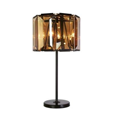 Favourite Prismen 1891-4T Настольная лампаСовременные<br>Настольная лампа – это не просто источник дополнительного освещения, но и оригинальный элемент декора. Его можно установить в спальне, гостиной, кабинете и других комнатах. Интернет-магазин «Светодом» предлагает настольные лампы разных стилей по доступным ценам. Благодаря большому ассортименту Вы обязательно найдете в нашем каталоге именно ту модель, которую искали.   Настольная лампа Favourite 1891-4T – прекрасный вариант для завершения интерьера. Ее можно включить одновременно с люстрой для более яркого освещения или без нее для создания уютной атмосферы, настраивающей на отдых.   Купить настольную лампу Favourite 1891-4T Вы можете с помощью виртуальной «Корзины» или по контактным номерам, указанным на сайте.<br><br>Тип цоколя: E14<br>Количество ламп: 4<br>MAX мощность ламп, Вт: 40<br>Размеры: D420*H700