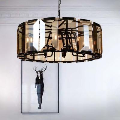 Favourite Prismen 1891-8P ЛюстраПодвесные<br><br><br>S освещ. до, м2: 16<br>Крепление: крюк<br>Тип цоколя: E14<br>Количество ламп: 8<br>MAX мощность ламп, Вт: 40<br>Размеры: D850xH500/1500
