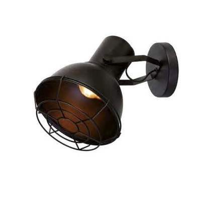Favourite Manufactory 1897-1W Светильник настенный браЛофт<br><br><br>Крепление: планка<br>Тип цоколя: E27<br>Количество ламп: 1<br>Размеры: L210*W210*H340<br>MAX мощность ламп, Вт: 60