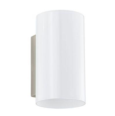 Eglo LUCCIOLA 91225 Настенно-потолочный светильникМодерн<br><br><br>S освещ. до, м2: 2<br>Крепление: настенное<br>Тип цоколя: G9<br>Количество ламп: 1<br>MAX мощность ламп, Вт: 2<br>Размеры основания, мм: 0<br>Длина, мм: 100<br>Расстояние от стены, мм: 125<br>Высота, мм: 180<br>Оттенок (цвет): белое покрытие<br>Цвет арматуры: серый<br>Общая мощность, Вт: 1X33W