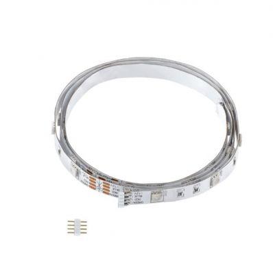 Eglo LED STRIPES-MODULE 92373 Светодиодная лентаЛента 5050<br>В интернет-магазине «Светодом» можно купить не только люстры и светильники, но и лампочки. В нашем каталоге представлены светодиодные, галогенные, энергосберегающие модели и лампы накаливания. В ассортименте имеются изделия разной мощности, поэтому у нас Вы сможете приобрести все необходимое для освещения.   Лампа Eglo 92373 обеспечит отличное качество освещения. При покупке ознакомьтесь с параметрами в разделе «Характеристики», чтобы не ошибиться в выборе. Там же указано, для каких осветительных приборов Вы можете использовать лампу Eglo 92373Eglo 92373.   Для оформления покупки воспользуйтесь «Корзиной». При наличии вопросов Вы можете позвонить нашим менеджерам по одному из контактных номеров. Мы доставляем заказы в Москву, Екатеринбург и другие города России.<br><br>Тип лампы: LED - светодиодная<br>Тип цоколя: LED<br>Ширина, мм: 10<br>MAX мощность ламп, Вт: 36<br>Длина, мм: 5000