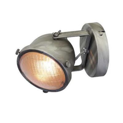Favourite Emitter 1900-1W Светильник настенный браЛофт<br><br><br>Крепление: планка<br>Тип цоколя: GU10<br>Количество ламп: 1<br>MAX мощность ламп, Вт: 50<br>Размеры: D120*W140*H180