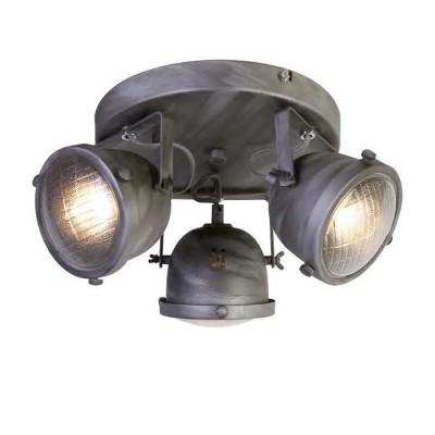 Favourite Emitter 1900-3C ЛюстраПотолочные<br><br><br>Установка на натяжной потолок: Ограничено<br>S освещ. до, м2: 8<br>Крепление: планка<br>Тип цоколя: GU10<br>Количество ламп: 3<br>MAX мощность ламп, Вт: 50<br>Диаметр, мм мм: 300<br>Размеры: L270*W300*H180<br>Высота, мм: 180<br>Цвет арматуры: серый