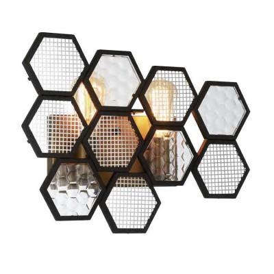 Favourite Honey 1904-2W Светильник настенный браХай-тек<br><br><br>Тип цоколя: E27<br>Количество ламп: 2<br>MAX мощность ламп, Вт: 60<br>Размеры: W446*D110*H335