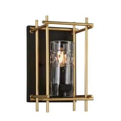 Favourite Coppa 1912-1W Светильник настенный браЛофт<br><br><br>Тип цоколя: E14<br>Количество ламп: 1<br>MAX мощность ламп, Вт: 40<br>Размеры: W190*D200*H326