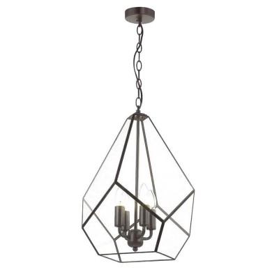 Favourite Eislager 1915-4P ЛюстраПодвесные<br><br><br>S освещ. до, м2: 8<br>Крепление: планка<br>Тип цоколя: E14<br>Количество ламп: 4<br>MAX мощность ламп, Вт: 40<br>Размеры: D370*H500/1290<br>Цвет арматуры: черный