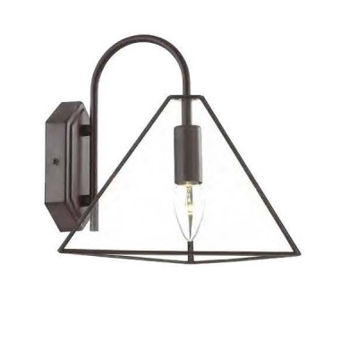 Favourite Pyramid 1917-1W Светильник настенный браЛофт<br><br><br>Тип цоколя: E14<br>Количество ламп: 1<br>Размеры: W255*D295*H260<br>MAX мощность ламп, Вт: 40