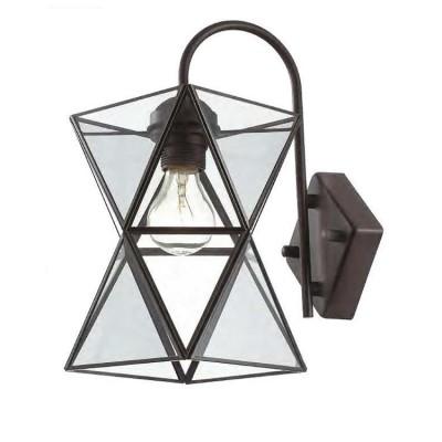 Favourite Polihedron 1919-1W Светильник настенный браЛофт<br><br><br>Тип цоколя: E27<br>Количество ламп: 1<br>MAX мощность ламп, Вт: 60<br>Размеры: W150*D230*H325