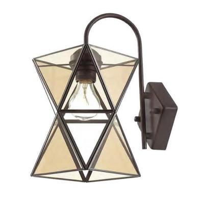 Favourite Polihedron 1920-1W Светильник настенный браЛофт<br><br><br>Тип цоколя: E27<br>Количество ламп: 1<br>MAX мощность ламп, Вт: 60<br>Размеры: W150*D230*H325