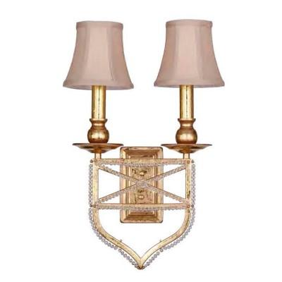 Настенный светильник бра Favourite 1922-2W MarquiseКлассические<br><br><br>Тип цоколя: E27<br>Количество ламп: 2<br>Размеры: W290*H500*D100<br>MAX мощность ламп, Вт: 60