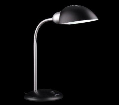 Светильник настольный Евросвет 1926 черныйОфисные<br>Настольная лампа – это не просто источник дополнительного освещения, но и оригинальный элемент декора. Его можно установить в спальне, гостиной, кабинете и других комнатах. Интернет-магазин «Светодом» предлагает настольные лампы разных стилей по доступным ценам. Благодаря большому ассортименту Вы обязательно найдете в нашем каталоге именно ту модель, которую искали.   Настольная лампа Евросвет 1926 – прекрасный вариант для завершения интерьера. Ее можно включить одновременно с люстрой для более яркого освещения или без нее для создания уютной атмосферы, настраивающей на отдых.   Купить настольную лампу Евросвет 1926 Вы можете с помощью виртуальной «Корзины» или по контактным номерам, указанным на сайте.<br><br>S освещ. до, м2: 1<br>Тип лампы: накал-я - энергосбер-я<br>Тип цоколя: E27<br>Количество ламп: 1<br>MAX мощность ламп, Вт: 15<br>Диаметр, мм мм: 180<br>Высота, мм: 660<br>Цвет арматуры: черный