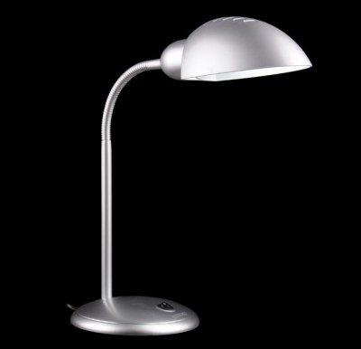 Светильник настольный Евросвет 1926 серебристыйОфисные<br>Настольная лампа – это не просто источник дополнительного освещения, но и оригинальный элемент декора. Его можно установить в спальне, гостиной, кабинете и других комнатах. Интернет-магазин «Светодом» предлагает настольные лампы разных стилей по доступным ценам. Благодаря большому ассортименту Вы обязательно найдете в нашем каталоге именно ту модель, которую искали.   Настольная лампа Евросвет 1926 – прекрасный вариант для завершения интерьера. Ее можно включить одновременно с люстрой для более яркого освещения или без нее для создания уютной атмосферы, настраивающей на отдых.   Купить настольную лампу Евросвет 1926 Вы можете с помощью виртуальной «Корзины» или по контактным номерам, указанным на сайте.<br><br>S освещ. до, м2: 1<br>Тип лампы: накал-я - энергосбер-я<br>Тип цоколя: E27<br>Количество ламп: 1<br>MAX мощность ламп, Вт: 15<br>Диаметр, мм мм: 180<br>Высота, мм: 660<br>Цвет арматуры: серебристый
