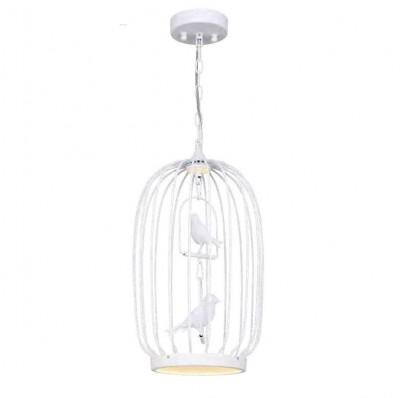 Favourite Chick 1929-2P ЛюстраПодвесные<br><br><br>Установка на натяжной потолок: Да<br>S освещ. до, м2: 5<br>Крепление: планка<br>Тип цоколя: LED<br>Количество ламп: 1<br>MAX мощность ламп, Вт: 12<br>Диаметр, мм мм: 280<br>Размеры: D280*H520/1300<br>Высота, мм: 520 - 1300<br>Цвет арматуры: белый