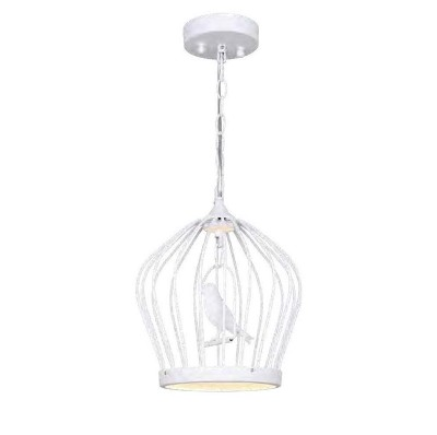 Favourite Chick 1931-2P ЛюстраПодвесные<br><br><br>Установка на натяжной потолок: Да<br>S освещ. до, м2: 6<br>Крепление: планка<br>Тип цоколя: LED<br>Количество ламп: 1<br>MAX мощность ламп, Вт: 12+1 LED<br>Диаметр, мм мм: 280<br>Размеры: D280*H340/1140<br>Высота, мм: 340 - 1140<br>Цвет арматуры: белый