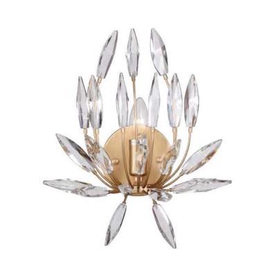 Favourite Feerie 1933-1W Светильник настенный браХрустальные<br><br><br>Тип цоколя: E14<br>Количество ламп: 1<br>MAX мощность ламп, Вт: 40<br>Размеры: W300*H350*D200