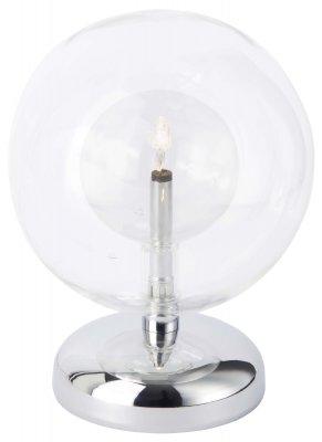 Лампа настольная Brilliant G19348/15 MystiqueХай тек<br>Зачастую мы ищем идеальное освещение для своего дома и уделяем этому достаточно много времени. Так, например, если нам нужен светильник с количеством ламп - 1 и цвет плафонов должен быть - неокрашенный, а материал плафонов только стекло! То нам, как вариант, подойдет модель - лампа настольная Brilliant G19348/15.<br><br>S освещ. до, м2: 1<br>Тип лампы: галогенная / LED-светодиодная<br>Тип цоколя: G4<br>Количество ламп: 1<br>Ширина, мм: 130<br>MAX мощность ламп, Вт: 20<br>Высота, мм: 170<br>Цвет арматуры: серебристый