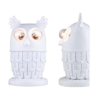 Favourite Filin 1935-2W Светильник настенный бра СоваДля детской<br>Настенный светильник для детской комнаты в виде белой совы будет прекрасным дополнением к интерьеру малыша.<br><br>Тип цоколя: E14<br>Количество ламп: 2<br>Размеры: L170*W124*H300<br>MAX мощность ламп, Вт: 40