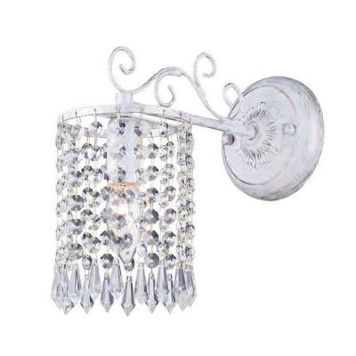 Favourite Salto 1939-1W Светильник настенный браХрустальные<br><br><br>Тип цоколя: E14<br>Количество ламп: 1<br>Размеры: W120*D270*H240<br>MAX мощность ламп, Вт: 40