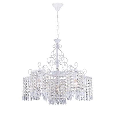 Favourite Salto 1939-6P ЛюстраПодвесные<br><br><br>S освещ. до, м2: 12<br>Крепление: крюк<br>Тип цоколя: E14<br>Количество ламп: 6<br>MAX мощность ламп, Вт: 40<br>Размеры: D560*H490/1610