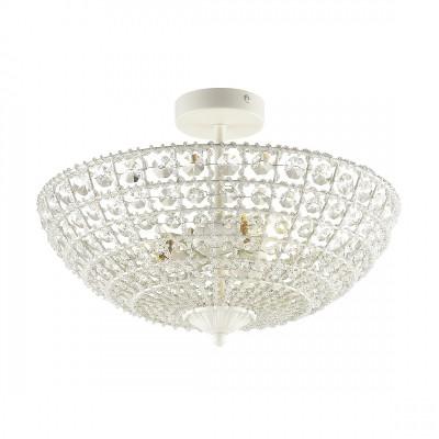 Потолочный светильник Favourite 1945-3U Splendorхрустальные потолочные люстры<br><br><br>Крепление: Планка<br>Тип лампы: Накаливания / энергосбережения / светодиодная<br>Тип цоколя: E27<br>Цвет арматуры: белый<br>Количество ламп: 3<br>Диаметр, мм мм: 395<br>Размеры: D395*H285<br>Высота, мм: 285<br>Поверхность арматуры: матовая<br>Оттенок (цвет): белый<br>MAX мощность ламп, Вт: 60<br>Общая мощность, Вт: 180
