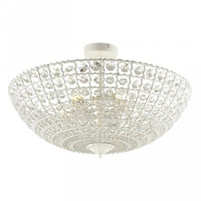 Потолочный светильник Favourite 1945-5U Splendorхрустальные потолочные люстры<br><br><br>Крепление: Планка<br>Тип лампы: Накаливания / энергосбережения / светодиодная<br>Тип цоколя: E27<br>Цвет арматуры: белый<br>Количество ламп: 5<br>Диаметр, мм мм: 530<br>Размеры: D530*H330<br>Высота, мм: 330<br>Поверхность арматуры: матовая<br>Оттенок (цвет): белый<br>MAX мощность ламп, Вт: 60<br>Общая мощность, Вт: 300