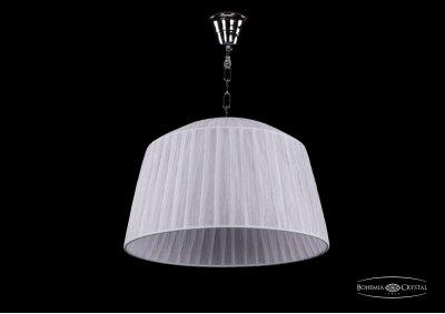 Люстра Bohemia Ivele 1950/42/Ni/SH32Подвесные<br><br><br>S освещ. до, м2: 15<br>Тип товара: Люстра<br>Тип лампы: накаливания / энергосбережения / LED-светодиодная<br>Тип цоколя: E14<br>Количество ламп: 5<br>MAX мощность ламп, Вт: 60<br>Диаметр, мм мм: 420<br>Высота, мм: 270<br>Цвет арматуры: Никель