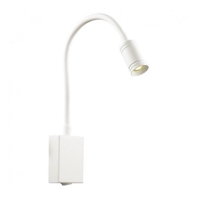 Настенный светильник Favourite 1958-1W MurumБра хай тек стиля<br><br><br>Цветовая t, К: 3000<br>Тип лампы: LED - светодиодная<br>Тип цоколя: LED, встроенные светодиоды<br>Цвет арматуры: белый<br>Количество ламп: 1<br>Ширина, мм: 60<br>Диаметр, мм мм: 120<br>Размеры: D120*W60*H200<br>Высота, мм: 200<br>Поверхность арматуры: матовая<br>Оттенок (цвет): белый<br>MAX мощность ламп, Вт: 3