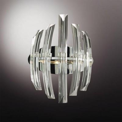 Светильник Odeon Light 1983/2W Vinca хромХрустальные<br><br><br>S освещ. до, м2: 5<br>Тип лампы: галогенная / LED-светодиодная<br>Тип цоколя: G9<br>Цвет арматуры: серебристый<br>Количество ламп: 2<br>Ширина, мм: 230<br>Высота, мм: 300<br>MAX мощность ламп, Вт: 40