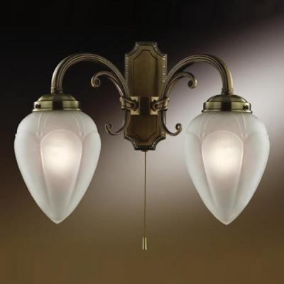 Светильник с выкл. Odeon Light 1990/2W бронза OvaleКлассические<br><br><br>S освещ. до, м2: 5<br>Тип лампы: накаливания / энергосбережения / LED-светодиодная<br>Тип цоколя: E14<br>Количество ламп: 2<br>Ширина, мм: 360<br>MAX мощность ламп, Вт: 40<br>Расстояние от стены, мм: 165<br>Высота, мм: 290<br>Цвет арматуры: бронзовый