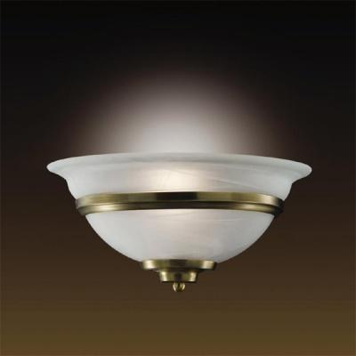 Светильник Odeon Light 1993/1W бронза TeatroКлассические<br><br><br>S освещ. до, м2: 4<br>Тип лампы: накаливания / энергосбережения / LED-светодиодная<br>Тип цоколя: E27<br>Цвет арматуры: бронзовый<br>Количество ламп: 1<br>Ширина, мм: 320<br>Высота, мм: 160<br>MAX мощность ламп, Вт: 60