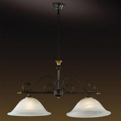 Светильник Odeon Light 1995/2 Gamma коричневыйПодвесные<br>Этот потолочный светильник включает в себя два плафона из белого алебастра, что позволяет использовать его для освещения достаточно большой площади. Благодаря изящной форме плафона-цветка, и арматуре, похожей на стебель, светильник создает в доме атмосферу уюта, романтики и тепла. Алебастровое покрытие делает свет мягким и приятным для глаз. Такой светильник не хочется выключать даже на время сна!<br><br>Установка на натяжной потолок: Да<br>S освещ. до, м2: 13<br>Крепление: Крюк<br>Тип товара: Люстра подвесная<br>Тип лампы: накаливания / энергосбережения / LED-светодиодная<br>Тип цоколя: E27<br>Количество ламп: 2<br>Ширина, мм: 310<br>MAX мощность ламп, Вт: 100<br>Длина, мм: 740<br>Высота, мм: 400-1000<br>Цвет арматуры: коричневый