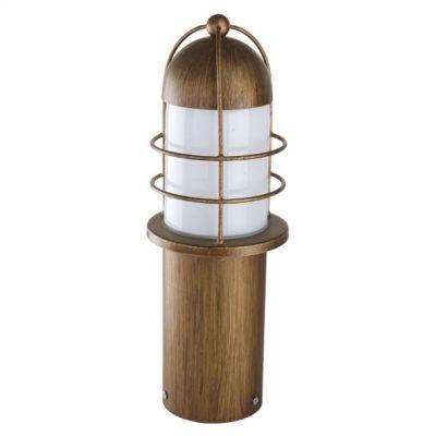 Eglo MINORCA 89535 светильник уличныйОдиночные столбы<br>Обеспечение качественного уличного освещения – важная задача для владельцев коттеджей. Компания «Светодом» предлагает современные светильники, которые порадуют Вас отличным исполнением. В нашем каталоге представлена продукция известных производителей, пользующихся популярностью благодаря высокому качеству выпускаемых товаров.   Уличный светильник Eglo 89535 не просто обеспечит качественное освещение, но и станет украшением Вашего участка. Модель выполнена из современных материалов и имеет влагозащитный корпус, благодаря которому ей не страшны осадки.   Купить уличный светильник Eglo 89535, представленный в нашем каталоге, можно с помощью онлайн-формы для заказа. Чтобы задать имеющиеся вопросы, звоните нам по указанным телефонам.<br><br>Тип цоколя: E27<br>Количество ламп: 1<br>MAX мощность ламп, Вт: 60<br>Диаметр, мм мм: 137<br>Размеры основания, мм: 100<br>Высота, мм: 385<br>Оттенок (цвет): белый глянцевый<br>Цвет арматуры: медный<br>Общая мощность, Вт: 2