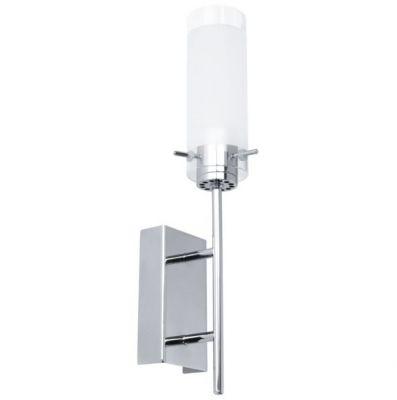 Eglo AGGIUS 91547 Настенно-потолочный светильникСовременные<br>Австрийское качество модели светильника Eglo 91547 не оставит равнодушным каждого купившего! Закаленное стекло (пр-во Чехия), Хромированное основание, С выключателем, Класс изоляции 2 (плоская вилка, двойная изоляция от вилки до лампы), IP 20, Экологически безопасные технологии, освещенность 480 lm ,L=120Н=210,1X6W,LED.<br><br>S освещ. до, м2: 2<br>Крепление: настенное<br>Цветовая t, К: 3000 (теплый белый)<br>Тип цоколя: LED<br>Количество ламп: 1<br>MAX мощность ламп, Вт: 29<br>Размеры основания, мм: 0<br>Длина, мм: 70<br>Расстояние от стены, мм: 110<br>Высота, мм: 380<br>Оттенок (цвет): белый, прозрачный<br>Цвет арматуры: серебристый<br>Общая мощность, Вт: 1X6W