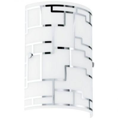 Eglo BAYMAN 92564 Настенно-потолочные светильникиПрямоугольные<br>Австрийское качество модели светильника Eglo 92564 не оставит равнодушным каждого купившего! Матовое закаленное стекло(пр-во Чехия) с хромированным обрамлением, Класс изоляции 2 (двойная изоляция), IP 20, Экологически безопасные технологии.,L=180, Н=210,1X60W,E27.<br><br>S освещ. до, м2: 2<br>Крепление: настенное<br>Тип лампы: накаливания / энергосбережения / LED-светодиодная<br>Тип цоколя: E14<br>Количество ламп: 1<br>MAX мощность ламп, Вт: 60<br>Размеры основания, мм: 0<br>Длина, мм: 180<br>Расстояние от стены, мм: 80<br>Высота, мм: 250<br>Оттенок (цвет): белый, хром<br>Цвет арматуры: серебристый<br>Общая мощность, Вт: 1X42W