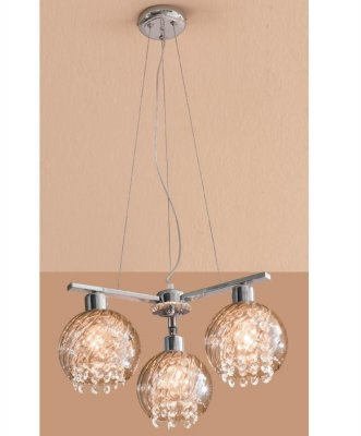 Citilux Бейт CL317131 Люстра подвесная хрустальнаяПодвесные<br><br><br>Установка на натяжной потолок: Да<br>S освещ. до, м2: 12<br>Крепление: Планка<br>Тип товара: Люстра подвесная хрустальная<br>Тип лампы: накаливания / энергосбережения / LED-светодиодная<br>Тип цоколя: E27<br>Количество ламп: 3<br>MAX мощность ламп, Вт: 60<br>Диаметр, мм мм: 480<br>Размеры: Диаметр 48см, Высота 30…120см, Хрусталь за дымчатым стеклом<br>Высота, мм: 300-1200<br>Поверхность арматуры: глянцевый<br>Оттенок (цвет): дымчатый, прозрачный<br>Цвет арматуры: серебристый