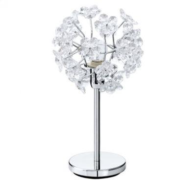 Eglo FENARI 91821 настольная лампаФлористика<br>Настольная лампа – это не просто источник дополнительного освещения, но и оригинальный элемент декора. Его можно установить в спальне, гостиной, кабинете и других комнатах. Интернет-магазин «Светодом» предлагает настольные лампы разных стилей по доступным ценам. Благодаря большому ассортименту Вы обязательно найдете в нашем каталоге именно ту модель, которую искали.   Настольная лампа Eglo 91821 – прекрасный вариант для завершения интерьера. Ее можно включить одновременно с люстрой для более яркого освещения или без нее для создания уютной атмосферы, настраивающей на отдых.   Купить настольную лампу Eglo 91821 Вы можете с помощью виртуальной «Корзины» или по контактным номерам, указанным на сайте.<br><br>S освещ. до, м2: 4<br>Тип цоколя: E14<br>Количество ламп: 1<br>MAX мощность ламп, Вт: 60<br>Диаметр, мм мм: 200<br>Высота, мм: 370<br>Цвет арматуры: серебристый