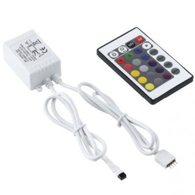 Eglo LED STRIPES-MODULE 92318 Светодиодная лентаКонтроллеры<br>В интернет-магазине «Светодом» можно купить не только люстры и светильники, но и лампочки. В нашем каталоге представлены светодиодные, галогенные, энергосберегающие модели и лампы накаливания. В ассортименте имеются изделия разной мощности, поэтому у нас Вы сможете приобрести все необходимое для освещения.   Лампа Eglo 92318 обеспечит отличное качество освещения. При покупке ознакомьтесь с параметрами в разделе «Характеристики», чтобы не ошибиться в выборе. Там же указано, для каких осветительных приборов Вы можете использовать лампу Eglo 92318Eglo 92318.   Для оформления покупки воспользуйтесь «Корзиной». При наличии вопросов Вы можете позвонить нашим менеджерам по одному из контактных номеров. Мы доставляем заказы в Москву, Екатеринбург и другие города России.<br>