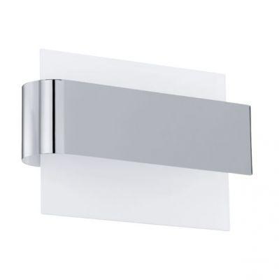 Eglo SANIA 1 91229 Настенно-потолочный светильникХай-тек<br>Австрийское качество модели светильника Eglo 91229 не оставит равнодушным каждого купившего! Матовое закаленное стекло(пр-во Чехия), Хромированный корпус, Сменные светодиоды, Класс изоляции 3 (двойная изоляция), IP 20, Экологически безопасные технологии, д, освещенность 360 lm ,L=240Н=160,3X4,76W,LED.<br><br>S освещ. до, м2: 12<br>Крепление: настенное<br>Цветовая t, К: 3000 (теплый белый)<br>Тип цоколя: LED<br>Цвет арматуры: серебристый<br>Количество ламп: 3<br>Размеры основания, мм: 0<br>Длина, мм: 240<br>Расстояние от стены, мм: 95<br>Высота, мм: 160<br>MAX мощность ламп, Вт: 29<br>Общая мощность, Вт: 3X4,76W