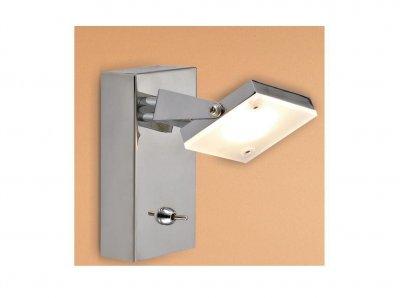 Citilux Кода CL551511 Светильник поворотный спотОдиночные<br><br><br>S освещ. до, м2: 3<br>Тип товара: Светильник поворотный спот<br>Цветовая t, К: 3000<br>Тип лампы: LED - светодиодная<br>Тип цоколя: LED*5W*3000K<br>Количество ламп: 1<br>Ширина, мм: 70<br>Длина, мм: 140<br>Высота, мм: 120<br>Поверхность арматуры: глянцевый<br>Оттенок (цвет): белый<br>Цвет арматуры: серебристый