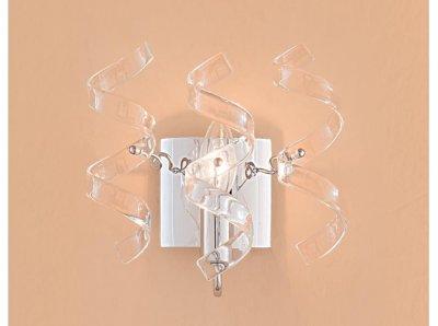 Citilux Рандом CL222320 Светильник настенный браХай-тек<br><br><br>S освещ. до, м2: 4<br>Тип лампы: накаливания / энергосбережения / LED-светодиодная<br>Тип цоколя: E14<br>Цвет арматуры: серебристый хром<br>Количество ламп: 1<br>Ширина, мм: 200<br>Размеры: Высота 22см, Ширина 20см, Глубина 14см, Художественное стекло<br>Длина, мм: 140<br>Высота, мм: 220<br>Поверхность арматуры: глянцевый<br>Оттенок (цвет): прозрачный<br>MAX мощность ламп, Вт: 60