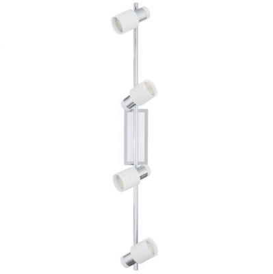 Eglo DAVIDA 92087 Светильник поворотный спотС 4 лампами<br>Светильники-споты – это оригинальные изделия с современным дизайном. Они позволяют не ограничивать свою фантазию при выборе освещения для интерьера. Такие модели обеспечивают достаточно качественный свет. Благодаря компактным размерам Вы можете использовать несколько спотов для одного помещения.  Интернет-магазин «Светодом» предлагает необычный светильник-спот Eglo 92087 по привлекательной цене. Эта модель станет отличным дополнением к люстре, выполненной в том же стиле. Перед оформлением заказа изучите характеристики изделия.  Купить светильник-спот Eglo 92087 в нашем онлайн-магазине Вы можете либо с помощью формы на сайте, либо по указанным выше телефонам. Обратите внимание, что у нас склады не только в Москве и Екатеринбурге, но и других городах России.<br><br>S освещ. до, м2: 1<br>Крепление: потолочное<br>Цветовая t, К: 3000 (теплый белый)<br>Тип лампы: галогенная / LED-светодиодная<br>Тип цоколя: GU10<br>Количество ламп: 4<br>Ширина, мм: 70<br>MAX мощность ламп, Вт: 5<br>Размеры основания, мм: 0<br>Длина, мм: 780<br>Цвет арматуры: серебристый<br>Общая мощность, Вт: 4X5W