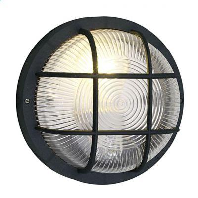 Eglo AнетLA 88803 светильник уличныйНастенные<br><br><br>Крепление: настенное<br>Тип товара: светильник уличный<br>Тип цоколя: E27<br>Количество ламп: 1<br>MAX мощность ламп, Вт: 40<br>Диаметр, мм мм: 185<br>Расстояние от стены, мм: 100<br>Оттенок (цвет): прозрачный<br>Цвет арматуры: черный<br>Общая мощность, Вт: 2