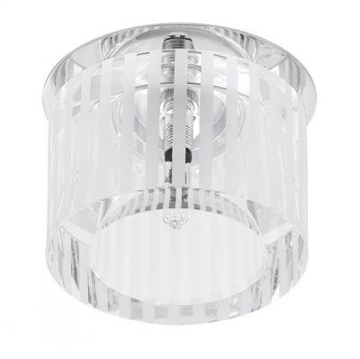 Eglo TORTOLI 92689 Встраиваемые и накладные светильникиКруглые<br><br><br>S освещ. до, м2: 1<br>Тип товара: Встраиваемые и накладные светильники<br>Скидка, %: 66<br>Тип цоколя: G4<br>Количество ламп: 1<br>MAX мощность ламп, Вт: 20<br>Диаметр, мм мм: 80<br>Размеры основания, мм: 0<br>Диаметр врезного отверстия, мм: 45<br>Высота, мм: 60<br>Оттенок (цвет): белый, прозрачный<br>Цвет арматуры: серебристый<br>Общая мощность, Вт: 1X20W